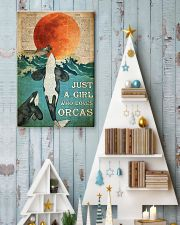 Just A Girl Who Loves Orcas 24x36 Poster lifestyle-holiday-poster-2
