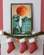 Just A Girl Who Loves Orcas 24x36 Poster lifestyle-holiday-poster-4