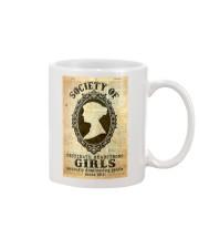 Society of obstinate headstrong girls Mug tile
