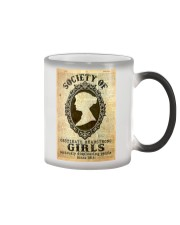 Society of obstinate headstrong girls Color Changing Mug tile