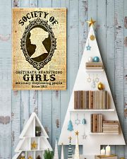 Society of obstinate headstrong girls 24x36 Poster lifestyle-holiday-poster-2