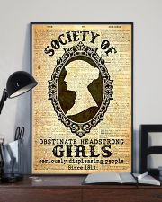 Society of obstinate headstrong girls 24x36 Poster lifestyle-poster-2