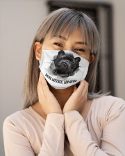 Six feet people Frenchie Cloth Face Mask - 3 Pack aos-face-mask-lifestyle-17