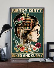 Nerdy Dirty Inked and Curvy 24x36 Poster lifestyle-poster-2
