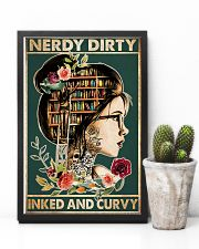Nerdy Dirty Inked and Curvy 24x36 Poster lifestyle-poster-8