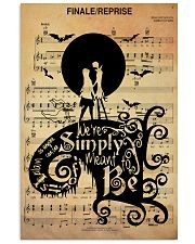 We're simply meant to be 24x36 Poster front