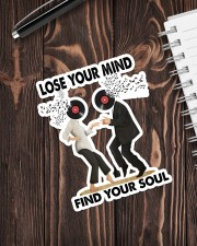 Lose your mind find your soul Sticker - Single (Vertical) aos-sticker-single-vertical-lifestyle-front-05