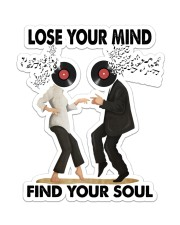 Lose your mind find your soul Sticker - Single (Vertical) front