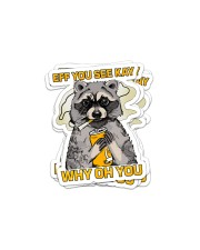 Eff You See Kay Why Oh You Sticker - 6 pack (Vertical) front