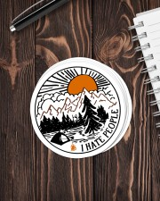 Camping i hate people Sticker - 6 pack (Vertical) aos-sticker-6-pack-vertical-lifestyle-front-05