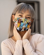 Color multi cat Cloth Face Mask - 3 Pack aos-face-mask-lifestyle-17