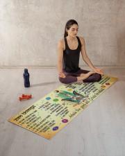 Inhale The Good Sht Yoga Mat 70x24 (horizontal) aos-yoga-mat-lifestyle-18