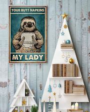 Your butt napkins My lady 11x17 Poster lifestyle-holiday-poster-2