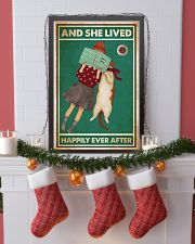 Reading Cat And She Lived Happily Ever After 24x36 Poster lifestyle-holiday-poster-4