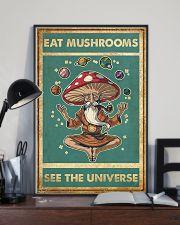 Meditation Magic Mushrooms Yoga Buddha 24x36 Poster lifestyle-poster-2