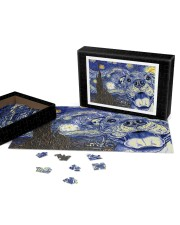Pitbull Van Gogh 250 Piece Puzzle (horizontal) aos-jigsaw-puzzle-250-pieces-horizontal-front-07