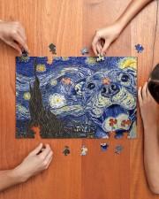 Pitbull Van Gogh 250 Piece Puzzle (horizontal) aos-jigsaw-puzzle-250-pieces-horizontal-lifestyle-front-07