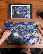 Pitbull Van Gogh 250 Piece Puzzle (horizontal) aos-jigsaw-puzzle-250-pieces-horizontal-lifestyle-front-11