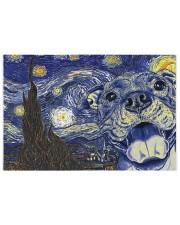 Pitbull Van Gogh 250 Piece Puzzle (horizontal) front