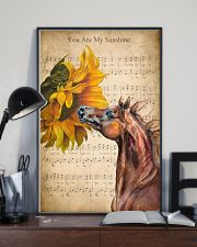 Horse You are my sunshine 24x36 Poster lifestyle-poster-2