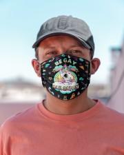 Be gay Hail satan Cloth Face Mask - 3 Pack aos-face-mask-lifestyle-06