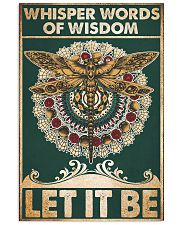 Whisper words of wisdom Let it be 24x36 Poster front