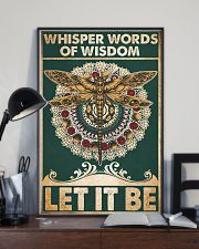 Whisper words of wisdom Let it be 24x36 Poster lifestyle-poster-2