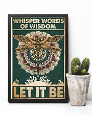 Whisper words of wisdom Let it be 24x36 Poster lifestyle-poster-8