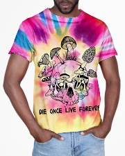 Die once live forever All-over T-Shirt aos-all-over-T-shirt-lifestyle-front-03