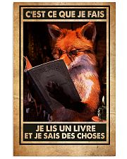 Thats what I do I read books and I know things 24x36 Poster front