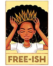 Black Freeish 24x36 Poster front