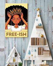 Black Freeish 24x36 Poster lifestyle-holiday-poster-2