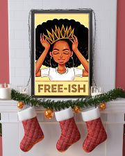 Black Freeish 24x36 Poster lifestyle-holiday-poster-4