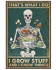 That's What I Do I Grow Stuff and I Know Things 24x36 Poster front