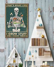 That's What I Do I Grow Stuff and I Know Things 24x36 Poster lifestyle-holiday-poster-2