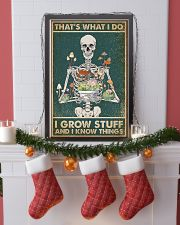 That's What I Do I Grow Stuff and I Know Things 24x36 Poster lifestyle-holiday-poster-4
