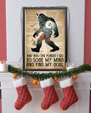 Bigfoot Into The Forest I Go 24x36 Poster lifestyle-holiday-poster-4