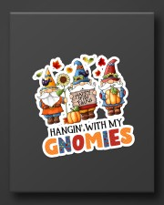 Hangin with my gnomes Sticker - Single (Vertical) aos-sticker-single-vertical-lifestyle-front-08