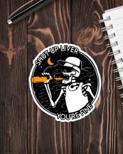 Beer sht up liver Sticker - Single (Vertical) aos-sticker-single-vertical-lifestyle-front-05