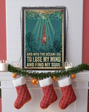 And into the ocean I go 24x36 Poster lifestyle-holiday-poster-4