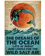 She Dreams Of The Ocean Late At Night 24x36 Poster front
