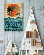 She Dreams Of The Ocean Late At Night 24x36 Poster lifestyle-holiday-poster-2