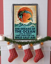 She Dreams Of The Ocean Late At Night 24x36 Poster lifestyle-holiday-poster-4