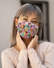 Color multi frenchie Cloth Face Mask - 3 Pack aos-face-mask-lifestyle-17