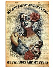 My Tattoos Are My Story 11x17 Poster front
