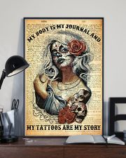 My Tattoos Are My Story 11x17 Poster lifestyle-poster-2