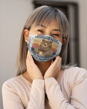Camping bear Cloth Face Mask - 3 Pack aos-face-mask-lifestyle-17