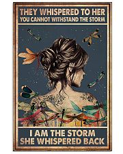 Dragonfly i am the storm 11x17 Poster front