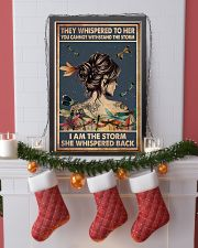 Dragonfly i am the storm 11x17 Poster lifestyle-holiday-poster-4