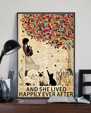 And she lived happily ever after 24x36 Poster lifestyle-poster-2